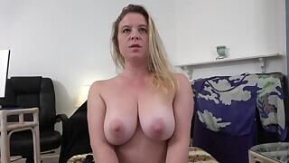 Insecure Stepmom wants Stepson`s Manstick